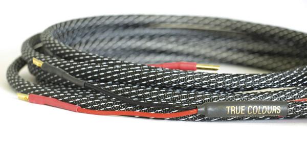Python II Biwire 4mm Hollow Gold 2 M (Paar)