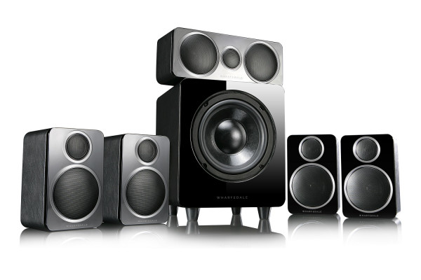 Wharfedale DX-2 5.1 HCP Black Leather