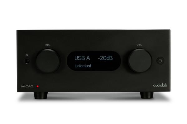 audiolab M-DAC+ Aluminium Black