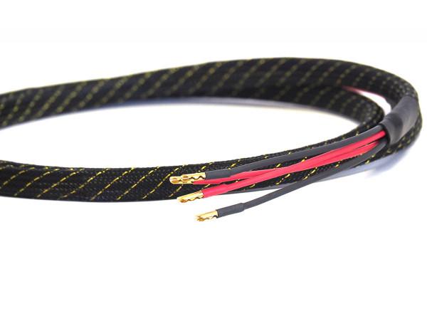 King Cobra Bi- Wire 4mm Hollow Gold 2 Meter ( Paar)